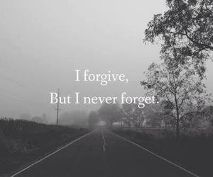 black and white, forgive, and never forget image