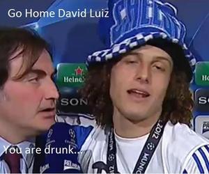 funny and david luiz image