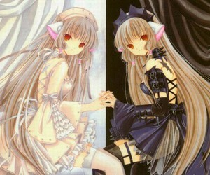 chobits, chii, and anime image