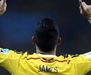 james rodriguez, colombie, and real-madrid image