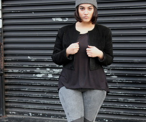 curvy, fashion, and outfit image
