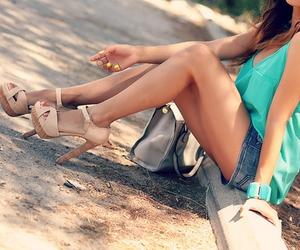 fashion, pretty, and heels image