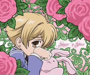 anime, honey, and roses image