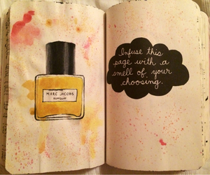 marc jacobs, parfume, and wreck this journal image