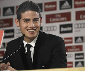 james rodriguez, real madrid, and football image