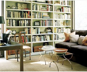 big, books, and bookshelf image