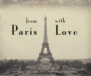 paris, love, and france image