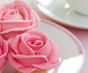 pink, rose, and sweet image