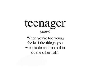 teenager, quotes, and true image