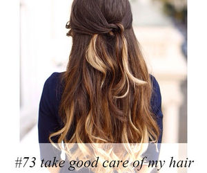 brown, hair, and must do image