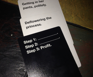 fun, funny, and cards against humanity image