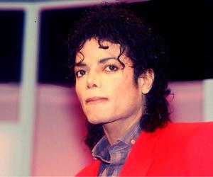 curls, michael jackson, and bad era image