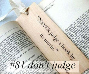 don't judge and must do image