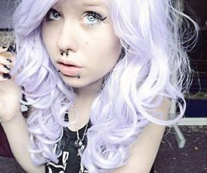 pretty, purple hair, and paya snakefist image