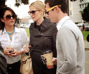 gossip girl, lily van der woodsen, and kelly rutherford image