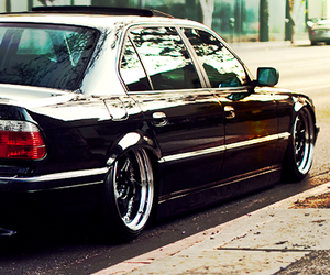 bmw, black beast, and e38 image