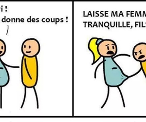 funny, baby, and cyanide and happiness image