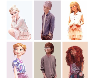 anna, frozen, and hipster image