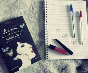 borboletas, cores, and livros image