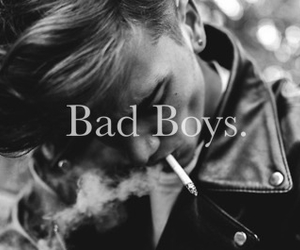 bad boys, black and white, and boy image