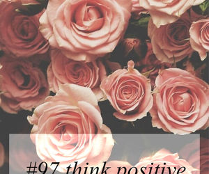 think positive and must do image