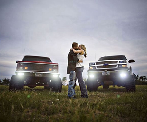 country, couple, and kiss image