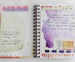 art, Paper, and art journal image
