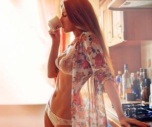 morning, coffee, and body image