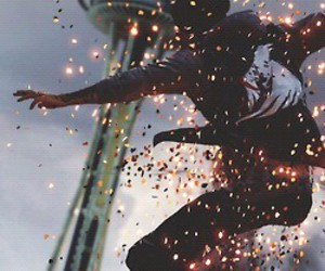 fire, hero, and delsin rowe image
