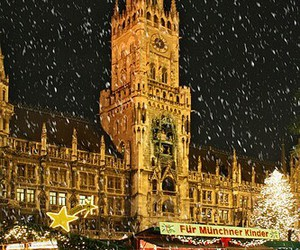 germany, munich, and snow image