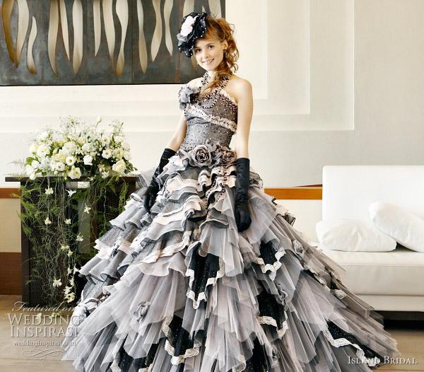 Island Bridal Color Wedding Dresses Collection   Wedding Inspirasi