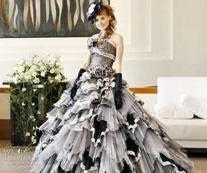 ball gowns, fashion, and wedding dress image