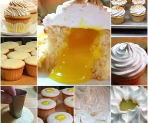 cupcake, lemon, and diy image