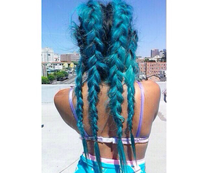 blue hair and trillgangster image