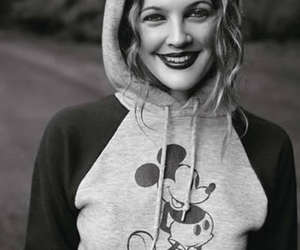 drew barrymore, drew, and mickey mouse image