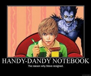 death note, anime, and blues clues image