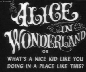 alice in wonderland, alice, and grunge image