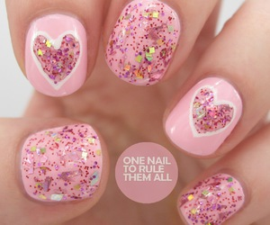 girly, pink, and sparkle image