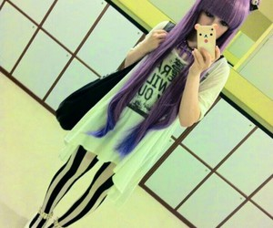 pastel, pastel goth, and goth image