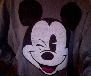 disney, forever 21, and mickey mouse image