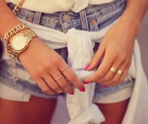 bijoux, short, and veste image