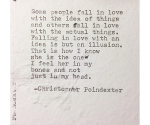 love, quote, and christopher poindexter image