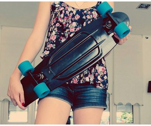 board, freedom, and girl image