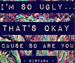 nirvana, ugly, and music image