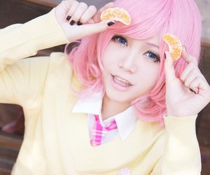 cosplay, pink hair, and noragami image