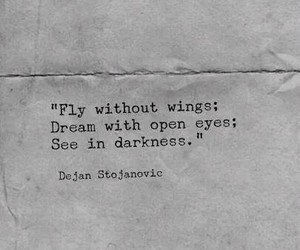 Dream, fly, and quotes image