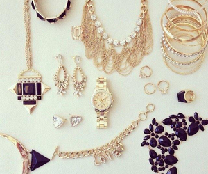 necklace, watch, and accessories image