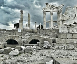 acropolis, cloudy, and excursion image
