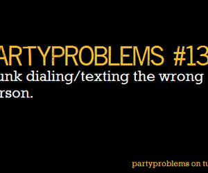 bitch, partyproblems, and party problems image