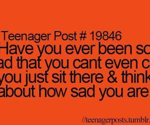 sad, cry, and true image
